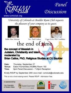 Rumi Club Panel Invitation