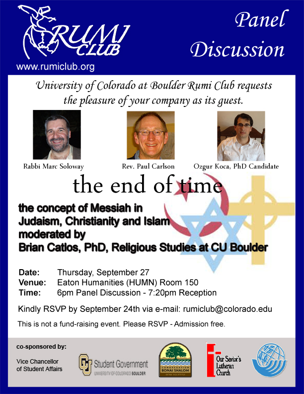 Panel Discussion On September 27th At Cu Boulder Mosaic Blog