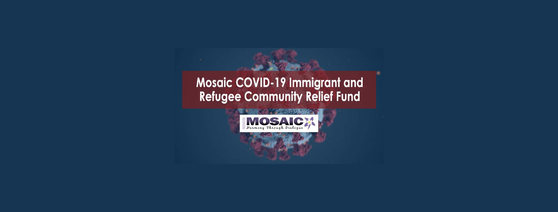 Mosaic COVID-19 Immigrant and Refugee Community Relief Fund